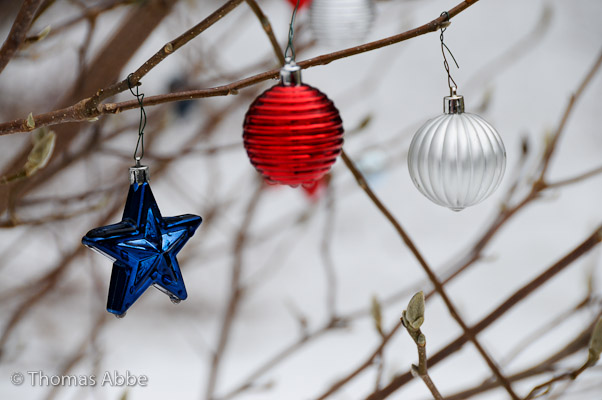 Red, White and Blue Ornaments